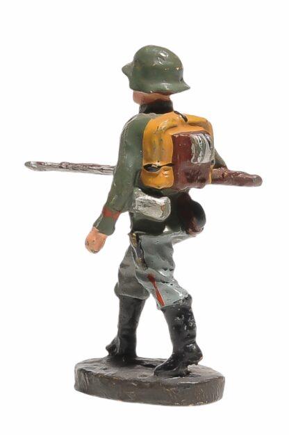 Elastolin Soldat gehend mit Gewehr2