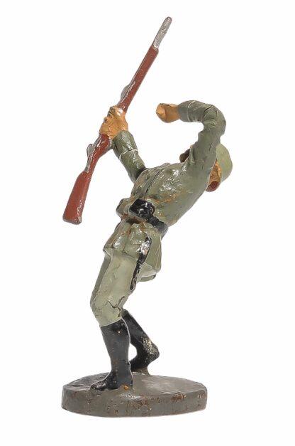 Elastolin Soldat getroffen Rückwärts fallend2