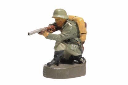Elastolin Soldat kniend richtig schiessend1