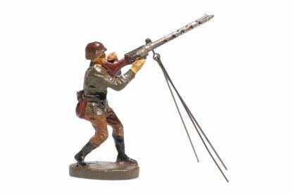 Elastolin Soldat mit MG Fliegerabwehr2