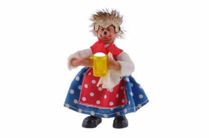 Figur Kellnerin mit Bierkrug von Peter Mecki 2