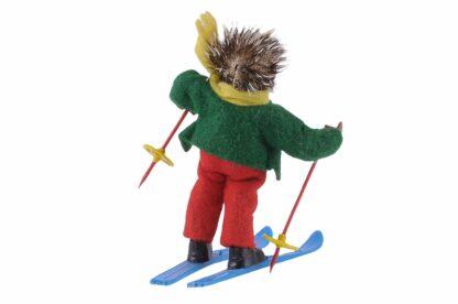 Figur Skifahrer Peter Mecki (2)