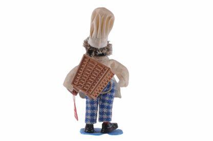 Figur mit Brot und Korb Peter Mecki (1)