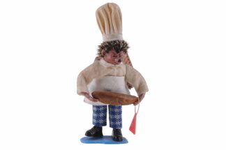 Figur mit Brot und Korb Peter Mecki (2)