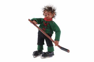 Figur mit Eishockey Peter Mecki (1)