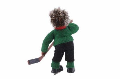 Figur mit Eishockey Peter Mecki (2)