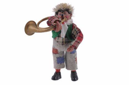 Figur mit Horn Peter Mecki (2)