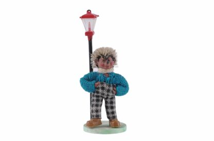 Figur mit Lampe Peter Mecki (1)