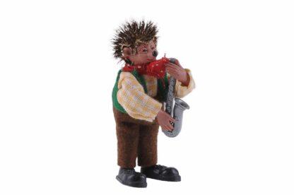 Figur mit Saxophon Peter Mecki (2)