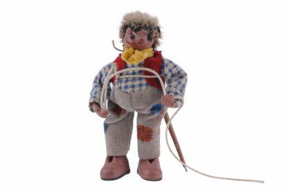 Figur mit Schnur Peter Mecki (1)