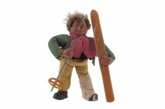 Figur mit Ski Peter Mecki (2)