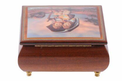 Hummel Holzschatulle mit Musikwerk, Musikbox von Ercolano2