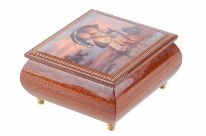 Hummel Holzschatulle mit Musikwerk, Musikbox von Ercolano3