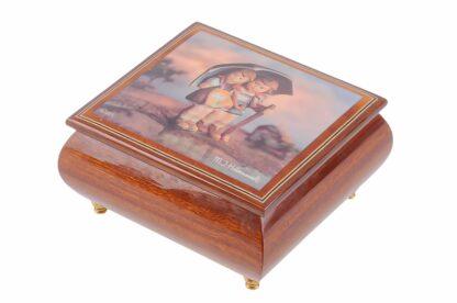 Hummel Holzschatulle mit Musikwerk, Musikbox von Ercolano6