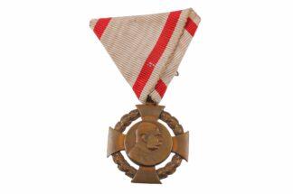JUBILÄUMSKREUZ 1848-1908 AM BAND KAISER FRANZ JOSEF ORDEN KUK 2