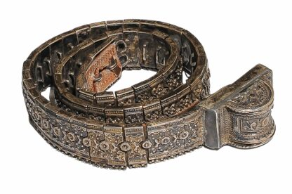 Kaukasus Silbergürtel reich verziert um 1900