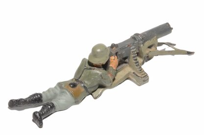 Lineol Soldat MG liegend2