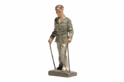 Lineol Soldat verwundet 1