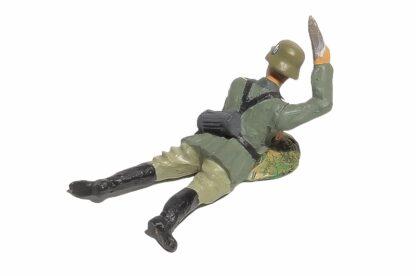 Lineol:Duscha Soldat liegend mit Granate2
