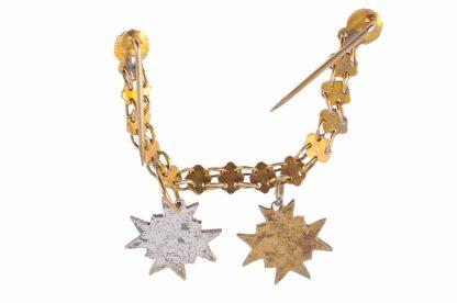Miniatur Ordenskette Österreich silbernes und goldenes Ehrenzeichen der Ärztekammer Österreichs2