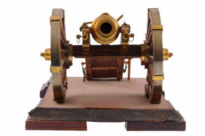 Modell eines Geschützes, Kanone, Vorderlader1