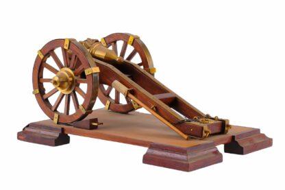 Modell eines Geschützes, Kanone, Vorderlader3