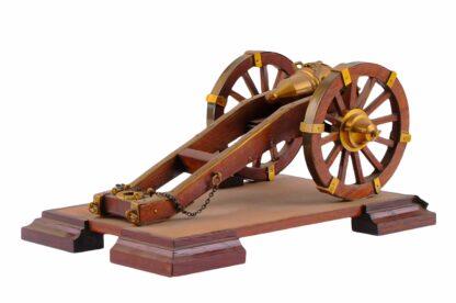 Modell eines Geschützes, Kanone, Vorderlader4