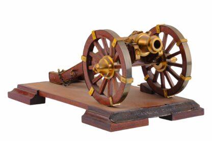 Modell eines Geschützes, Kanone, Vorderlader5