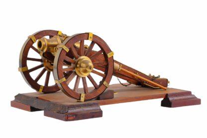 Modell eines Geschützes, Kanone, Vorderlader6