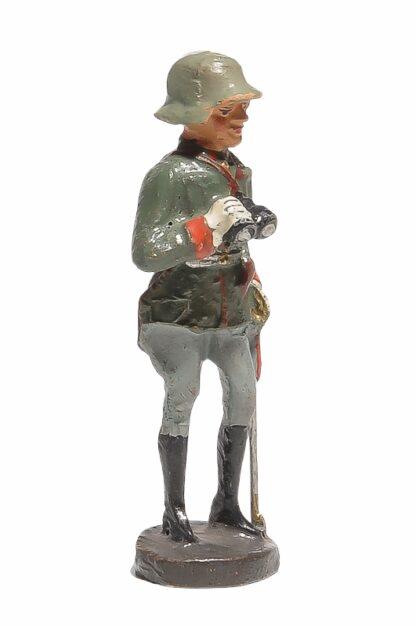 Stehender Offizier mit Fernglas Elastolin Soldat2