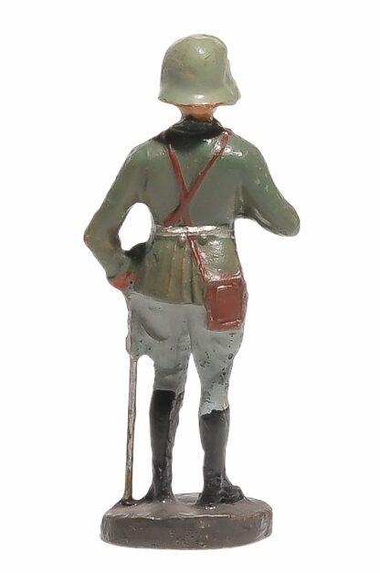 Stehender Offizier mit Fernglas Elastolin Soldat3