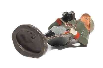 Stehender Offizier mit Fernglas Elastolin Soldat4