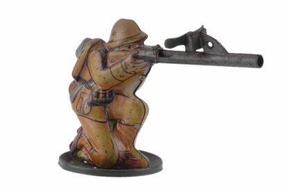 Vintage Tintoy Soldier WW2 D. R. G. M. Germany2