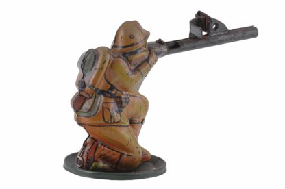 Vintage Tintoy Soldier WW2 D. R. G. M. Germany3