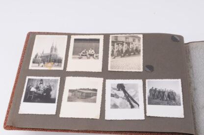 WW2 Fotoalbum German Airforce Luftwaffe Flak16