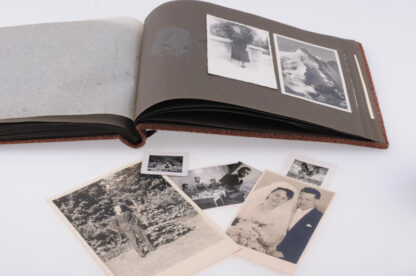 WW2 Fotoalbum German Airforce Luftwaffe Flak25