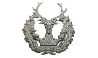 Bydand Gordon Highlanders Military Cap Badge 1