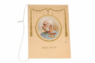 Kaiser Franz Josef 1848 - 1908 Jubiläumskalender6