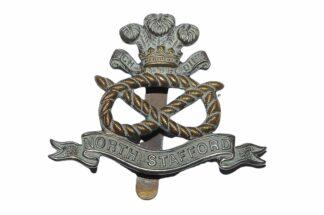 North Staffordshire Regiment Cap Badge1