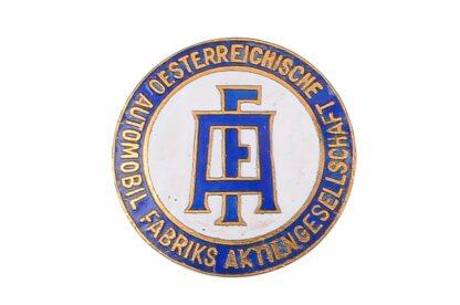 Pin Abzeichen Austro Fiat AF Österreichische Automobilfabrik 1