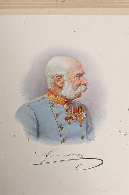 Porträit Kaiser Franz Josef 1908 Viribus Unitis2