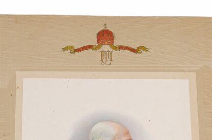 Porträit Kaiser Franz Josef 1908 Viribus Unitis4