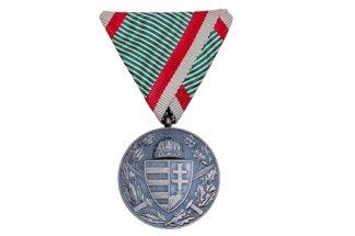 Ungarische Weltkriegs Erinnerungsmedaille Pro Deo Et Patria 1914-1918