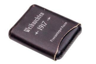 Zigarrenetui Zigarrenschachtel Weihnachten 1917 Proviantdepot Posen3